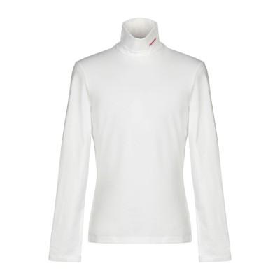 CALVIN KLEIN 205W39NYC T シャツ ホワイト XL コットン 90% / ポリウレタン 10% T シャツ
