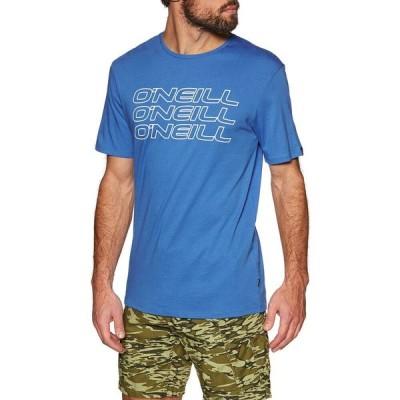 オニール O'Neill メンズ Tシャツ トップス triple short sleeve t-shirt Ruby Blue