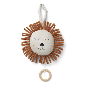 ferm LIVING Natural Lion Music Mobile One Size