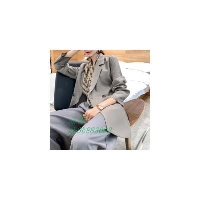 テーラードジャケット レディース 長袖 秋物 ゆったり コート カジュアル ジャケット 新作 ロング丈 無地 おしゃれ ロングコート アウター 通学 通勤