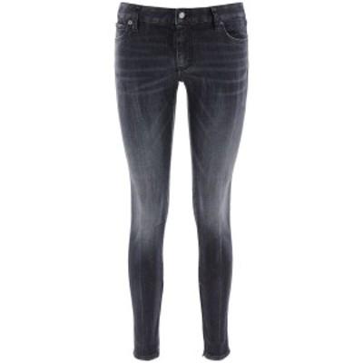 DSQUARED2/ディースクエアード Grey Dsquared2 twiggy medium waist jeans レディース 秋冬2020 S75LB0381 S30503 ik