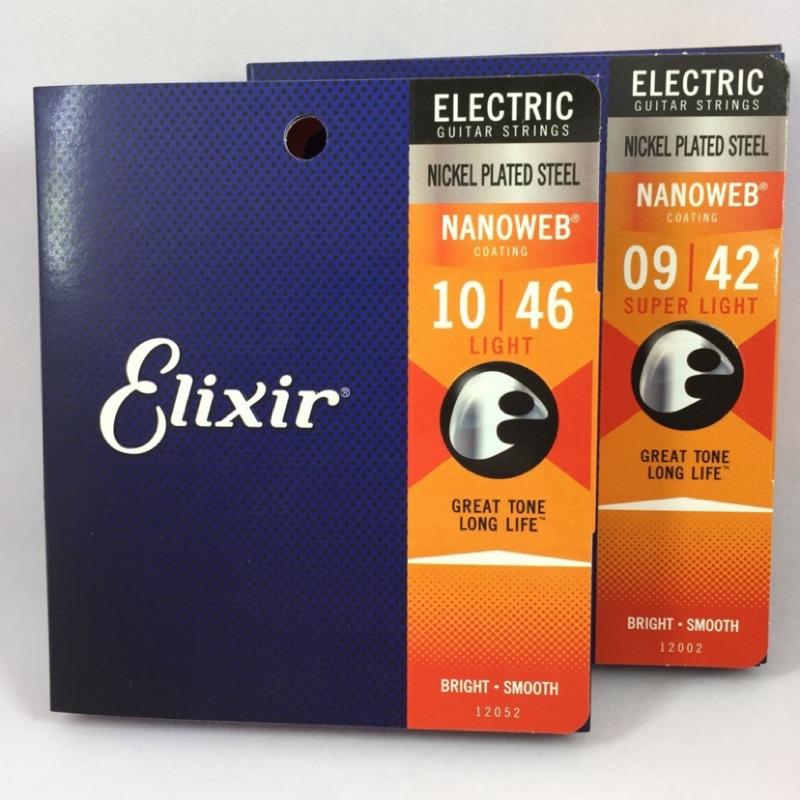 Elixir 頂級電吉他弦 NANOWEB  美國製 WL 宛伶樂器