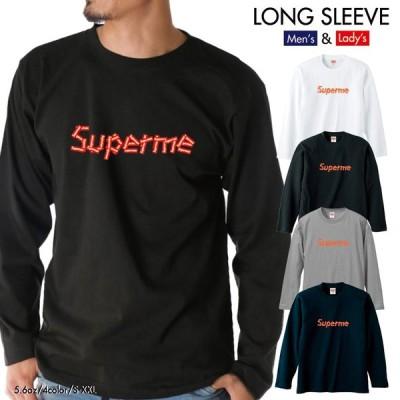 ストリート大人気ブランド ロンT longsleeve ロングスリーブ オリジナル 大人気 ボックスロゴ BOXロゴ オシャレ Superme デザイン 可愛い ユニセックス