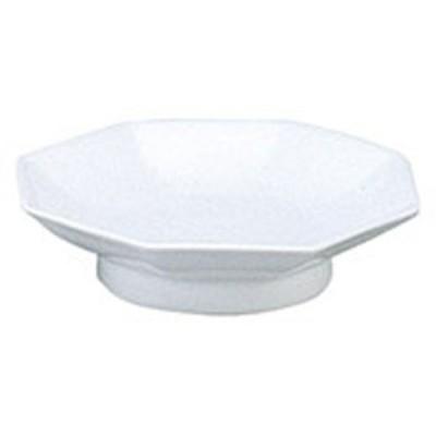 カネスズ 中華食器シリーズ 白中華 6.5八角高台