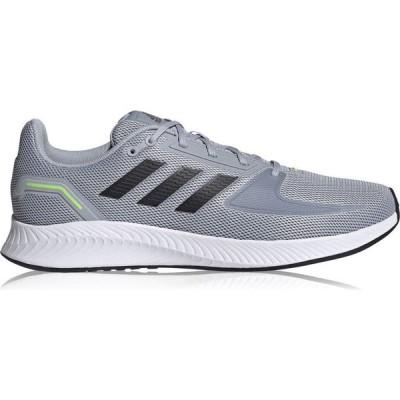 アディダス adidas メンズ ランニング・ウォーキング シューズ・靴 Adidas Runfalcon 2.0 Running Shoes Grey/White