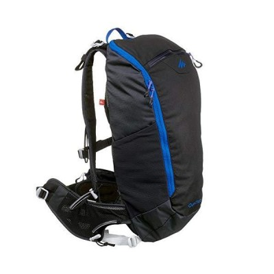 Quechua Fast Hiking Backpack 15L FH500 (Helium) - Black/Blue 並行輸入品