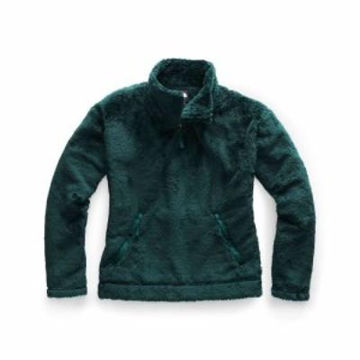 ザ ノースフェイス The North Face レディース フリース トップス Furry Fleece Pullover Ponderosa Green