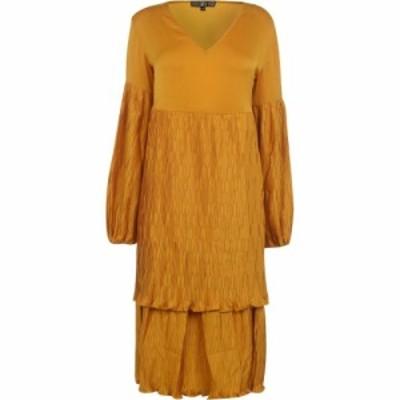 ビバ Biba レディース パーティードレス ワンピース・ドレス balon smock dress Nugget Yellow