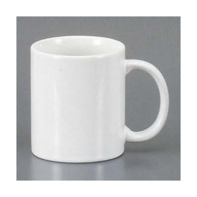 ☆ マグカップ ☆白厚口マグ [ 11.5 x 7.5 x 9cm 300cc ] 【 レストラン カフェ 飲食店 洋食器 業務用 】