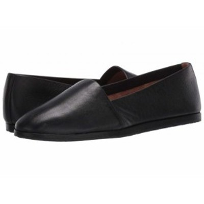 Aerosoles エアロソールズ レディース 女性用 シューズ 靴 ローファー ボートシューズ Holland Black Leather【送料無料】