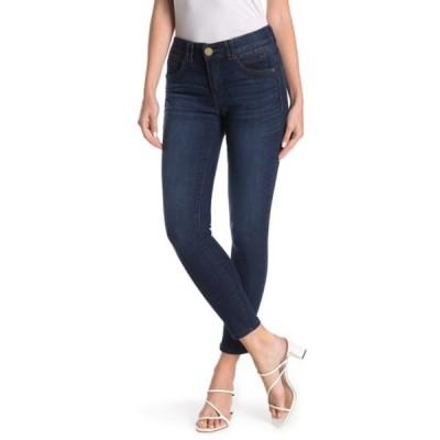 デモクラシー レディース デニムパンツ ボトムス Ab Technology Ankle Skinny Jeans BLUE