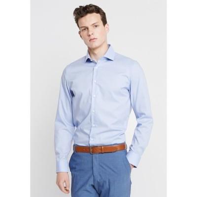 サイデンステッカー シャツ メンズ トップス SLIM SPREAD KENT PATCH - Formal shirt - hellblau