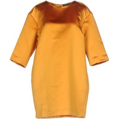 ツインセット シモーナ バルビエリ TWINSET ミニワンピース&ドレス イエロー M ポリエステル 100% ミニワンピース&ドレス