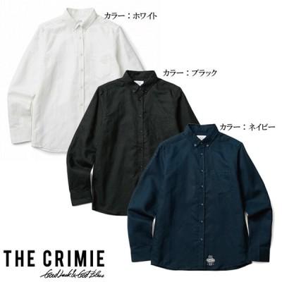 CRIMIE クライミー L/S BUTTON DOWN SHIRTS リネンボタンダウンシャツ LINEN B.D SHIRT [C1H1-SH01] オシャレ カッコイイ モテる STREET