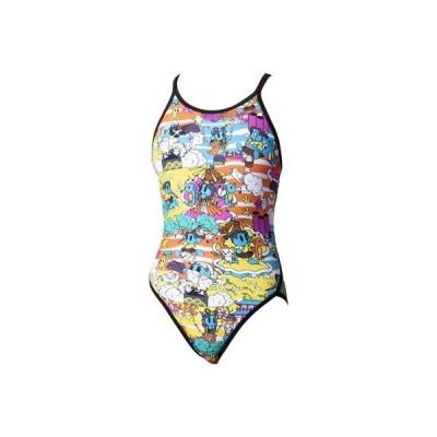 アリーナ[arena] 水着レディース競泳用タフスーツ トレーニング用(FINA非公認)SAR0118W BKYL 【返品・交換不可】