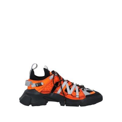 マックキュー アレキサンダー・マックイーン McQ Alexander McQueen スニーカー&テニスシューズ(ローカット) オレンジ 39 革