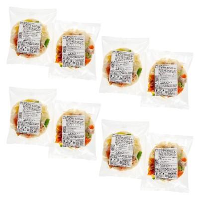 10種の野菜・きのこがとれるうどん 8食めん工房No.672714 通販 - QVCジャパン