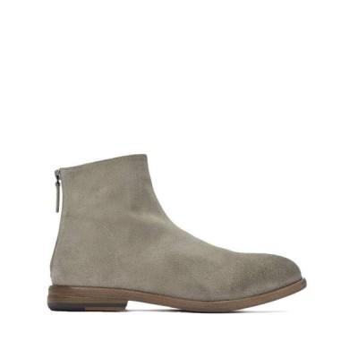 マルセル メンズ ブーツ・レインブーツ シューズ Reverse Leather Classic Back-Zip Boot