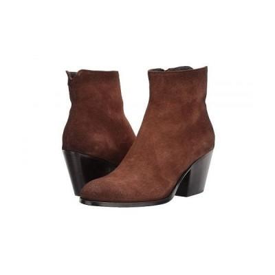 To Boot New York トゥ ブーツ ニューヨーク レディース 女性用 シューズ 靴 ブーツ アンクルブーツ ショート Elena - Brown Suede