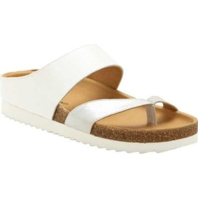 ラッキーブランド Lucky Brand レディース サンダル・ミュール シューズ・靴 Harribel Toe Loop Sandal Silver/Angor Soft Metallic Leather