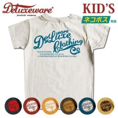 [ネコポス送料200円][KID'S]デラックスウエア キッズTシャツ BRK-06 DELUXEWARE[2021年夏新作]