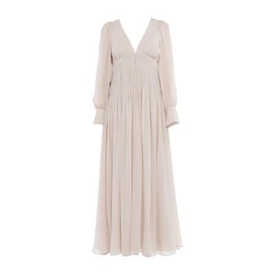 ステラ マッカートニー STELLA McCARTNEY ロングワンピース&ドレス ベージュ 38 シルク 100% ロングワンピース&ドレス