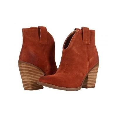 Dingo ディンゴ レディース 女性用 シューズ 靴 ブーツ アンクル ショートブーツ Flannie - Rust