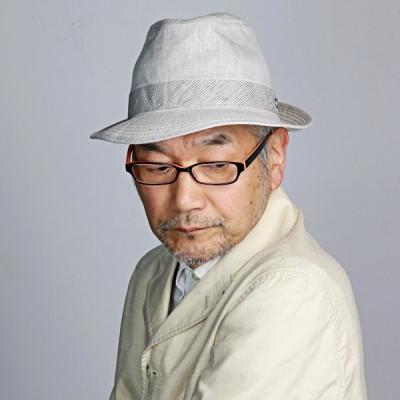 中折れ DAKS たためる 帽子 春夏 メンズ ダックス リネン シャンブレー 涼しい チロルハット 日本製 麻100% 父の日 ギフト 大人 シンプル おしゃれ ベージュ