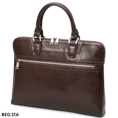 ブリーフケース ビジネス トートバッグ ブリーフバッグ ビジネス 鞄 カバン バッグ メンズ(ダークブラウン茶) 604
