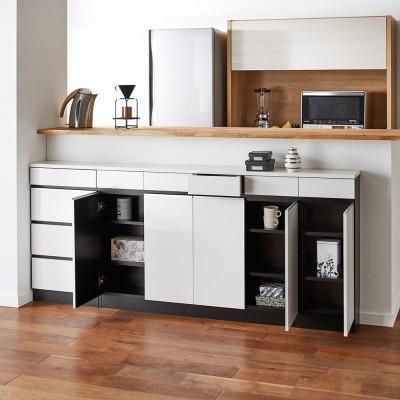 家具 収納 キッチン収納 食器棚 カウンター下収納 Peili/ペイリ カウンター下収納庫 収納庫幅149cm 奥行29.5cm H05641