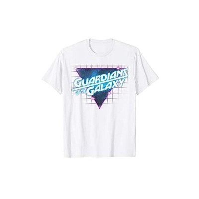 並行輸入品Marvel Guardians of the Galaxy Retro Logo Graphic T-Shirt C1【お取り寄せ】