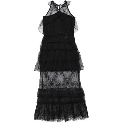 パトリツィア ペペ PATRIZIA PEPE ワンピース&ドレス ブラック 8 ナイロン 100% / ポリエステル / ポリウレタン ワンピース