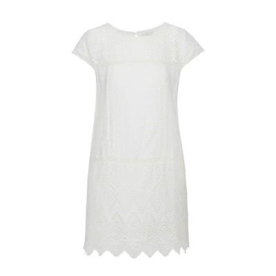 ジョア JOIE ミニワンピース&ドレス ホワイト M コットン 100% ミニワンピース&ドレス