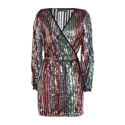 ALBERTO AUDENINO ミニワンピース&ドレス ピンク M ポリエステル 100% ミニワンピース&ドレス