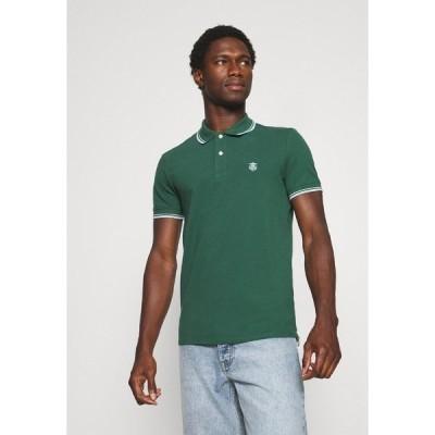 セレクテッドオム ポロシャツ メンズ トップス SLHNEWSEASON 2 PACK - Polo shirt - trekking green/black
