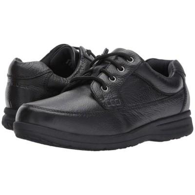 ナンブッシュ Nunn Bush メンズ 革靴・ビジネスシューズ シューズ・靴 Cam Oxford Casual Walking Shoe Black Tumbled Leather