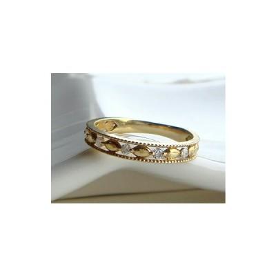 K18 ゴールド ダイヤモンド リング 「 グラシア テセラ 」18K 18金 YG WG PG イエローゴールド ホワイトゴールド ピンクゴールド クラシカル アンティーク ミ…