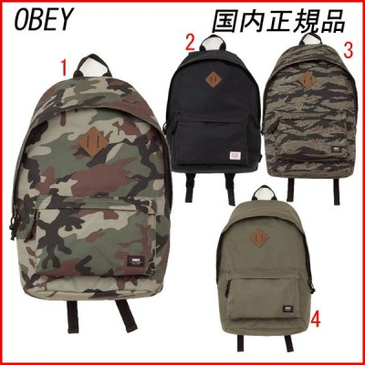 OBEY オベイ QUALITY DISSENT BACKPACK バックパック リュック 鞄 BACKPACK