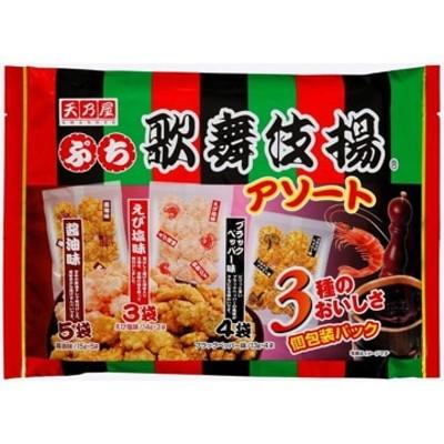 天乃屋 ぷち歌舞伎揚アソート  12袋  x  10