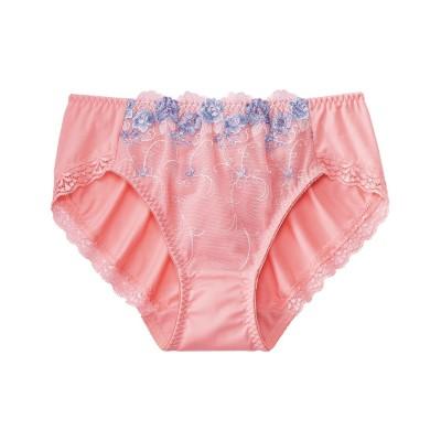 刺しゅうレースペアショーツ 2枚組(L) スタンダードショーツ, Panties