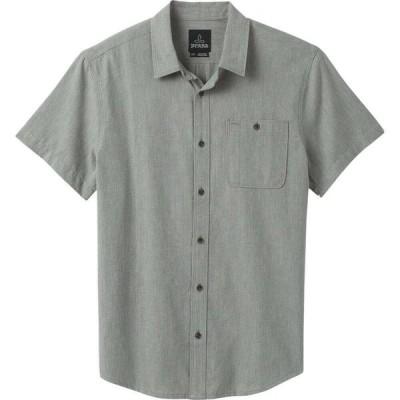 プラーナ Prana メンズ 半袖シャツ トップス Jaffra Short Sleeve Shirt Gravel