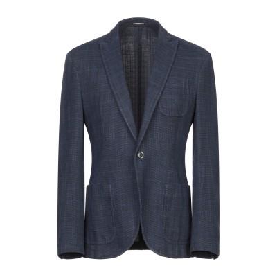 ローダ RODA テーラードジャケット ブルー 54 コットン 70% / 麻 30% テーラードジャケット