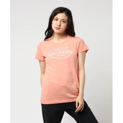 tシャツ Tシャツ Fjallraven Est. 1960 T-Shirt W (FJALLRAVEN/フェールラーベン)