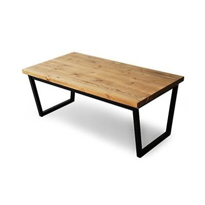 LOWYA ロウヤ ローテーブル 天然木 無垢材 センターテーブル デスク 幅110cm ライトブラウン
