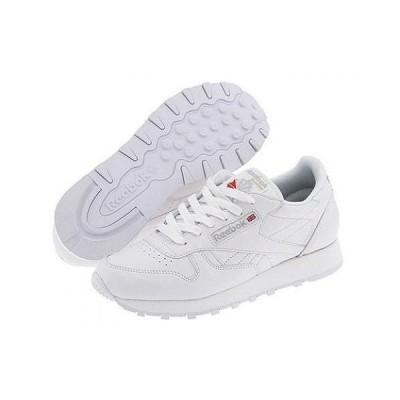 Reebok Lifestyle リーボック レディース 女性用 シューズ 靴 スニーカー 運動靴 Classic Leather - White