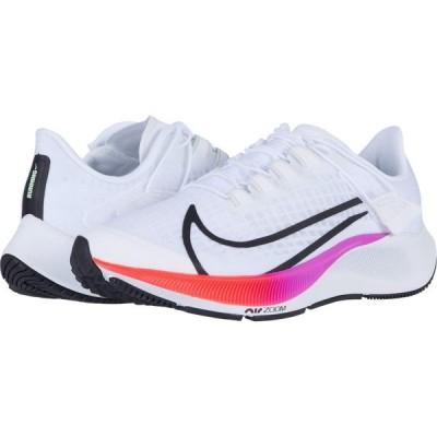 ナイキ Nike レディース ランニング・ウォーキング エアズーム シューズ・靴 Air Zoom Pegasus 37 FlyEase White/Flash Crimson/Hyper Violet