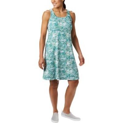 コロンビア レディース ワンピース トップス Freezer III Dress Waterfall Waterbrush Print
