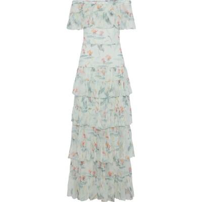 VILSHENKO 7分丈ワンピース・ドレス ライトグリーン 10 シルク 100% 7分丈ワンピース・ドレス