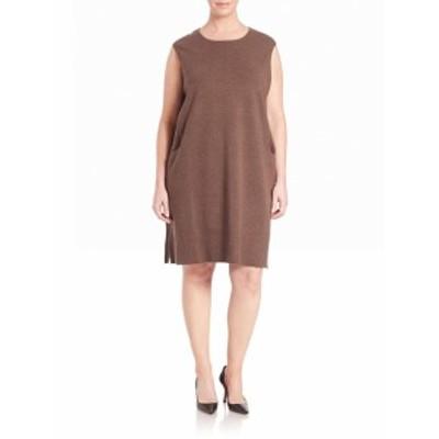 ラファイエット148ニューヨーク レディース ワンピース Rib-Detail Wool Flannel Dress
