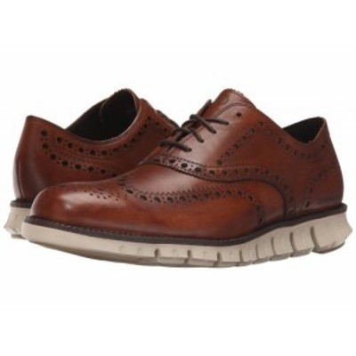 Cole Haan コールハーン メンズ 男性用 シューズ 靴 オックスフォード 紳士靴 通勤靴 Zerogrand Wing Ox British Tan【送料無料】